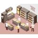 Isometric Bakery Illustration