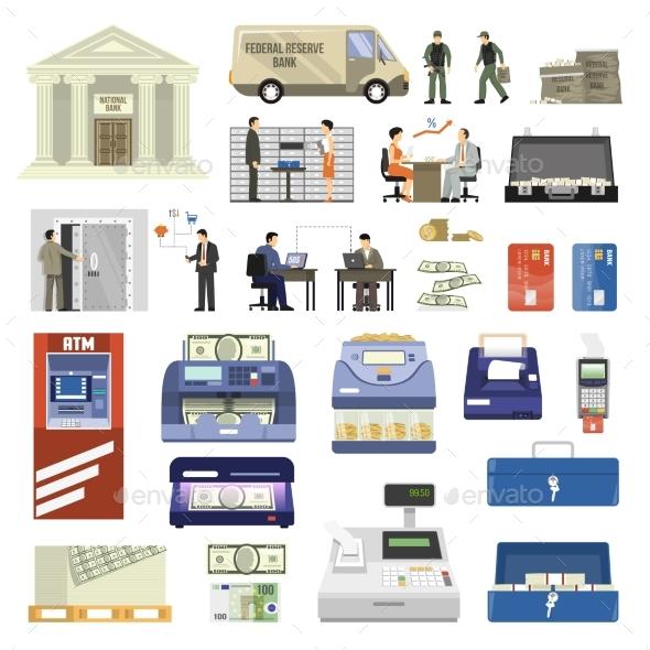 Flat Bank Set - Concepts Business