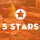 5Stars - Mobile UI KIT for Food & Beverage App Ecosystem