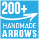 Arrows | Set of 200+ Handmade Arrows | Vector and Raster