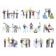 Business Teamwork Icons Set