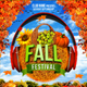 Fall and Halloween Flyer Template