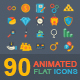 Flat Icons Pack - VideoHive Item for Sale