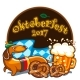 Oktoberfest Celebration Vector Banner Series - GraphicRiver Item for Sale
