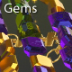 Bicolor Gems Glitter 9