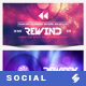Electronic Music Party vol.32 - Facebook Post Banner Templates - GraphicRiver Item for Sale