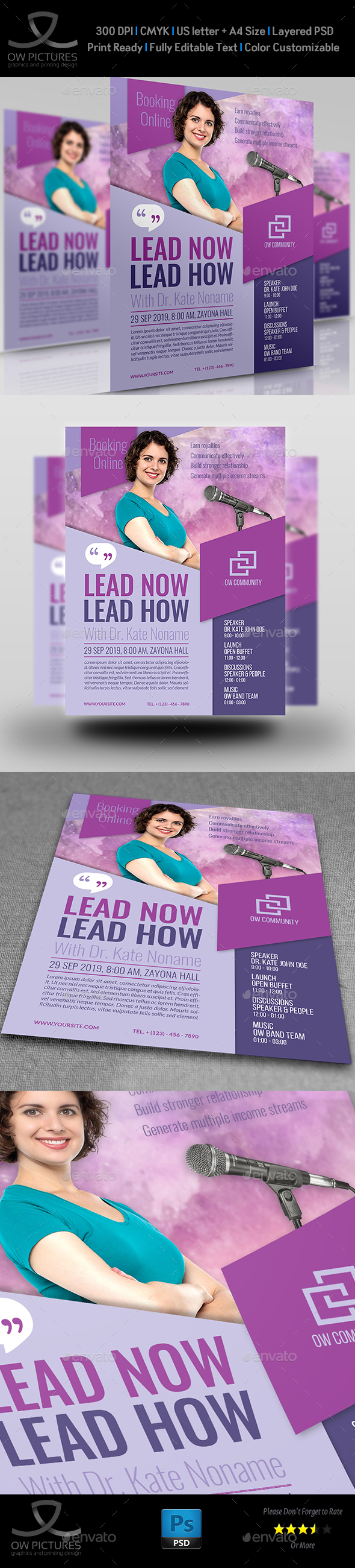 Seminar Flyer Template Vol.2 - Events Flyers