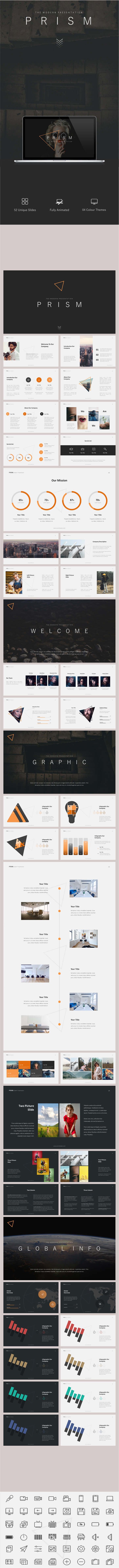 GraphicRiver Prism Powerpoint Template 20583690