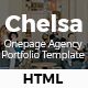 Chelsa - Onepage Agency Portfolio Template - ThemeForest Item for Sale