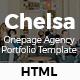 Chelsa - Onepage Agency Portfolio Template