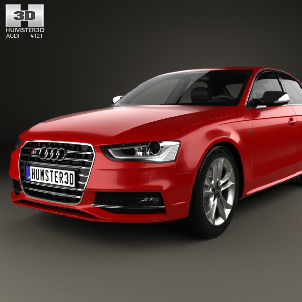 Audi S4 2013 By Humster3d