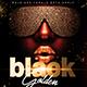 Golden Black Party Flyer - GraphicRiver Item for Sale