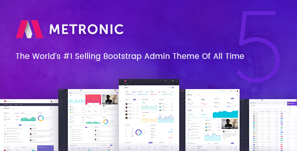 Metronic - Responsive Admin Dashboard Template - Admin Templates Site Templates