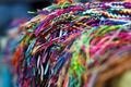 Colorful handmade bracelets
