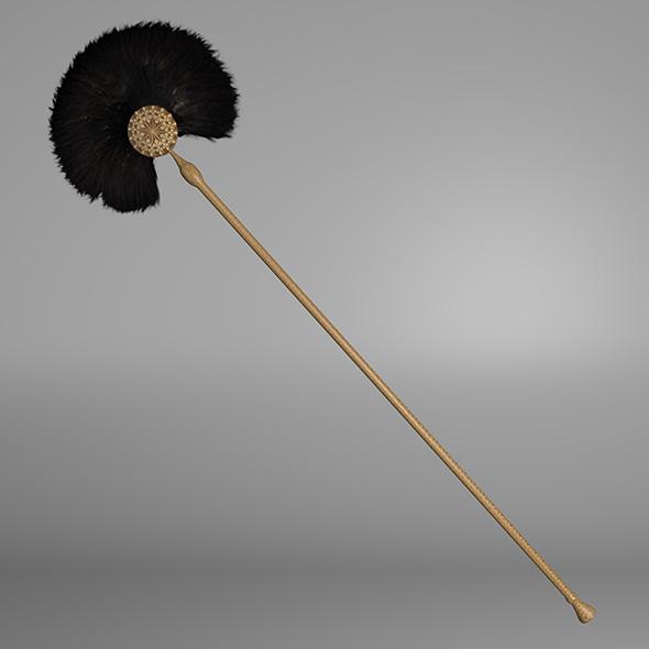 Ancient fan - 3DOcean Item for Sale