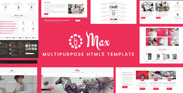 bMax Multipurpose HTML Template