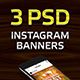 Oktoberfest Beer Party 3 Instagram Banner Templates - GraphicRiver Item for Sale