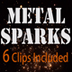Metal Sparks - VideoHive Item for Sale