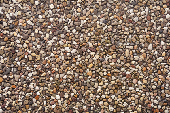 pebbles pattern texture - Stock Photo - Images