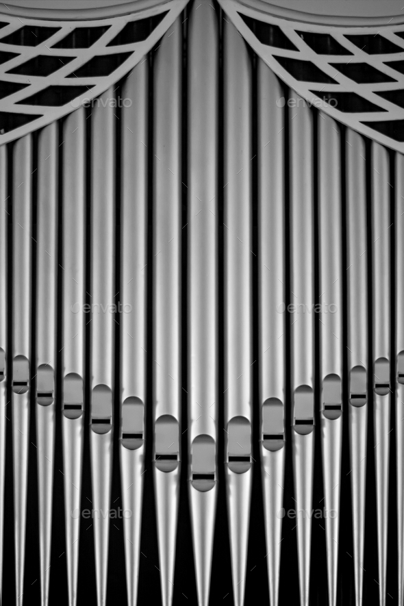 organ pipes - Stock Photo - Images