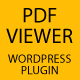 PDF Viewer - Wordpress Plugin - CodeCanyon Item for Sale
