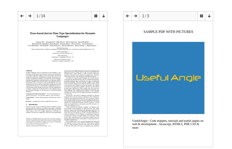 PDF Viewer - Wordpress Plugin
