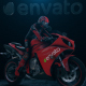 Sport Bike Reveal - VideoHive Item for Sale