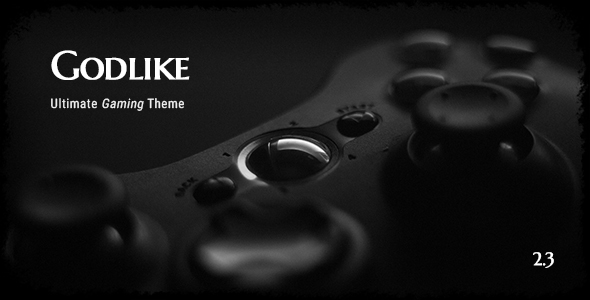 Image of Godlike - Game Theme for WordPress