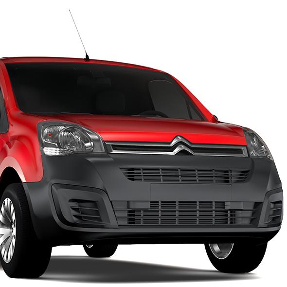 Citroen Berlingo Van L1 2017 - 3DOcean Item for Sale