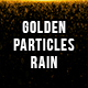 Golden Particles Rain - VideoHive Item for Sale