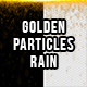 Golden Particles Rain with Alpha Channel - VideoHive Item for Sale
