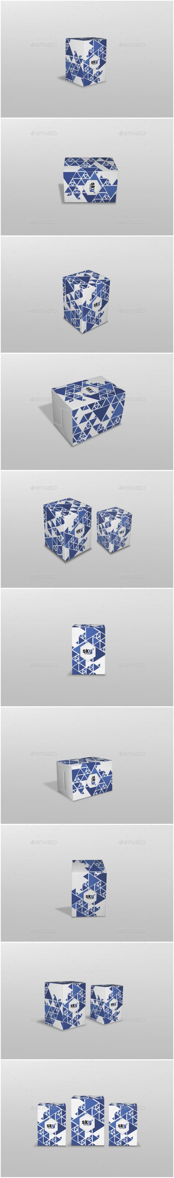 GraphicRiver Box Mockup 20569683