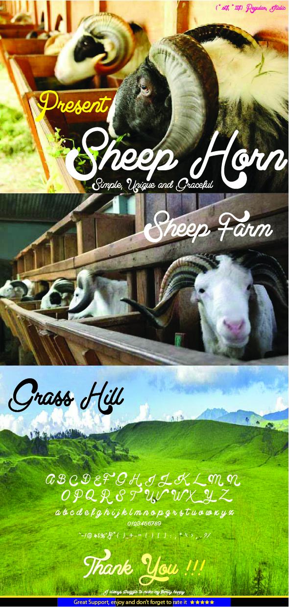 GraphicRiver Sheep Horn 20586949