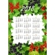 Vector 2018 Calendar of Fresh Berries and Fruits - GraphicRiver Item for Sale