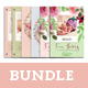 Baby Announcement Card Bundle - GraphicRiver Item for Sale