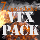 VFX Pack -  Fire, Explosion, Smoke, Glass, Stones - VideoHive Item for Sale