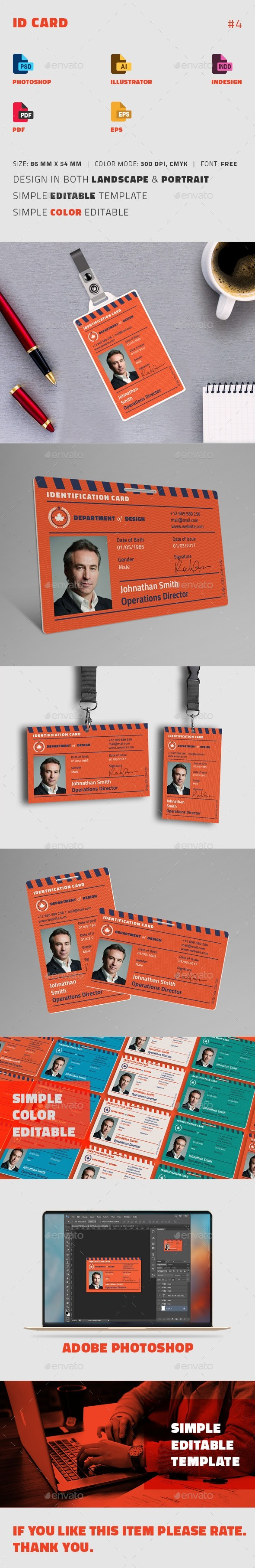 GraphicRiver ID Card 20588085