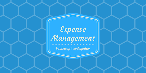 Expense Manager - CodeCanyon Item for Sale