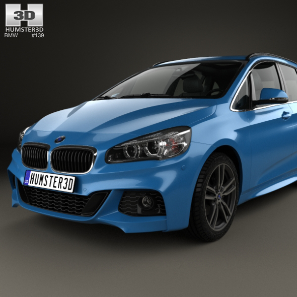 Bmwfort Package 3 Series: BMW 2 Series Gran Tourer (F46) M Sport Package 2015 By