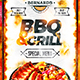 Grill Bar Menu Template vol.3 - GraphicRiver Item for Sale