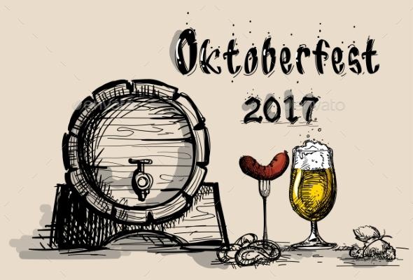 Oktoberfest Beer Festival Holiday Decoration - Miscellaneous Seasons/Holidays