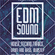 EDM Sound Flyer - GraphicRiver Item for Sale