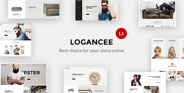 Logancee - Multipurpose Ecommerce HTML Template - Shopping Retail