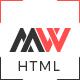 WorkFolio - Personal Portfolio HTML5 Template