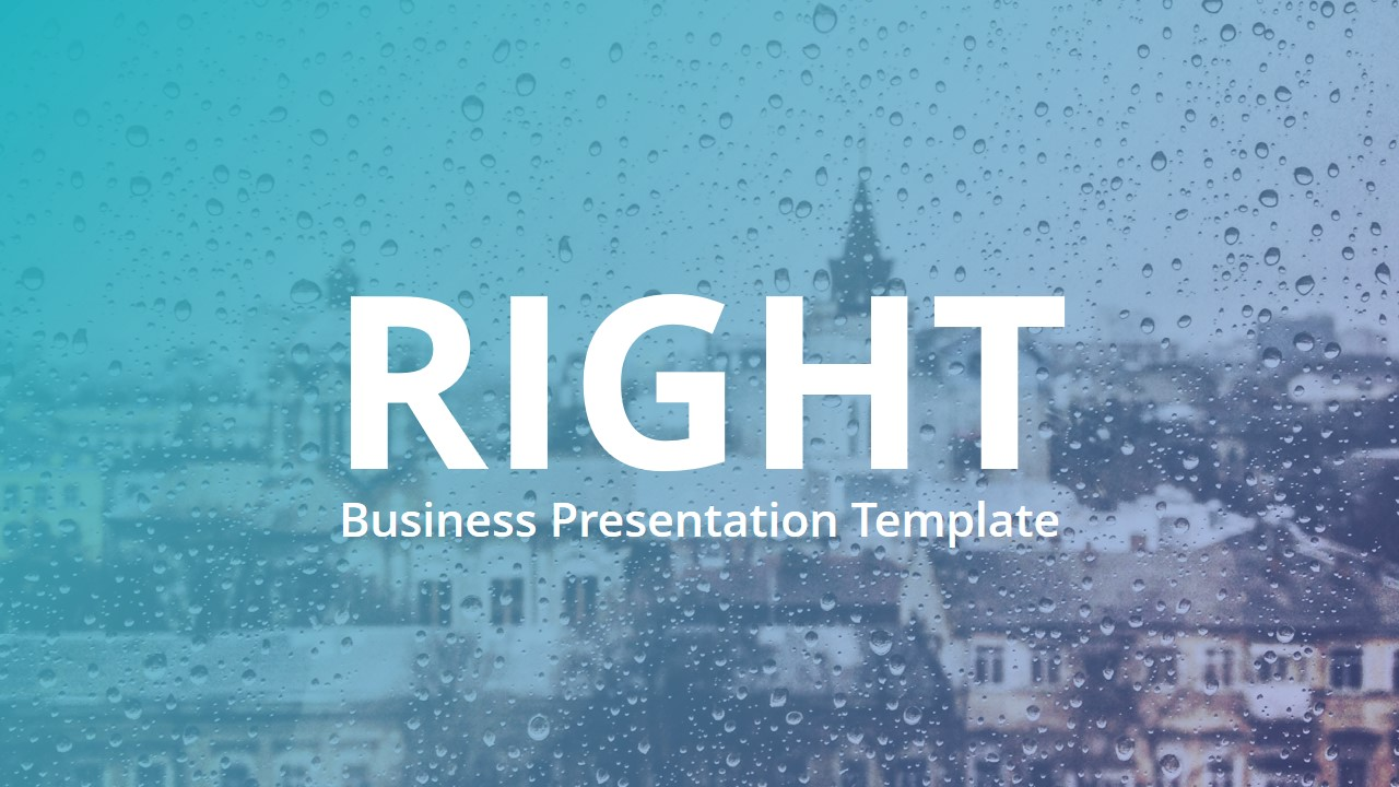 Right V3 Multipurpose Powerpoint Template