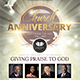 Church Anniversary Flyer - GraphicRiver Item for Sale