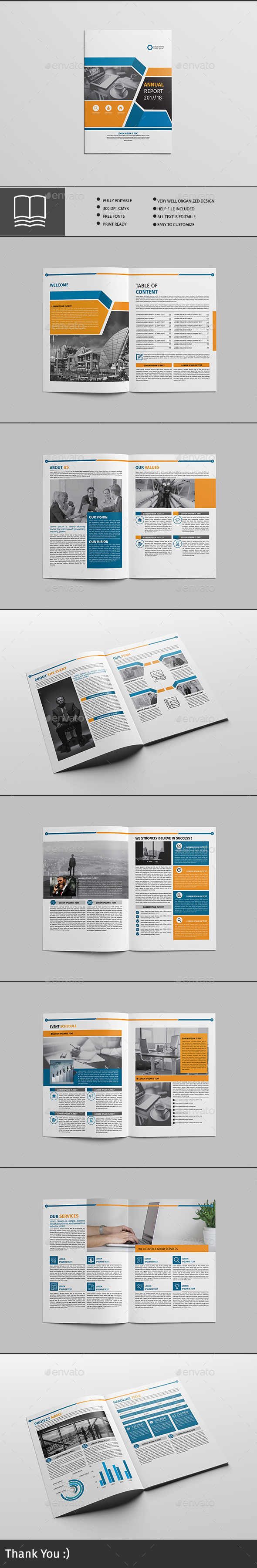 GraphicRiver Brochure 16 Page 20590022