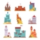 Ancient Castles and Fortresses Set, Various