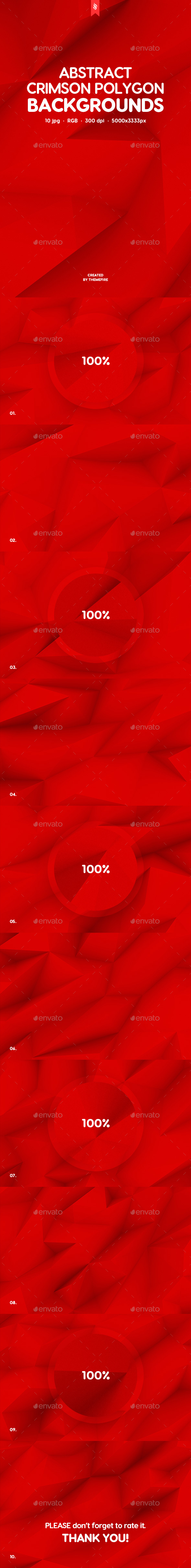 Red Polygon Backgrounds - Backgrounds Graphics