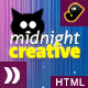 Midnight Creative - portfolio template. - ThemeForest Item for Sale